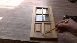 видео Изготовление деревянных дверей своими руками