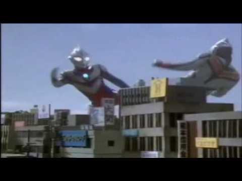 Ultraman Tiga vs Evil Tiga sound remixed