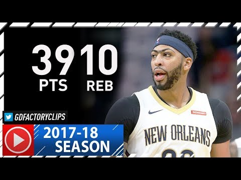 Anthony Davis Full Highlights vs Magic (2017.10.30) - 39 Pts, 10 Reb
