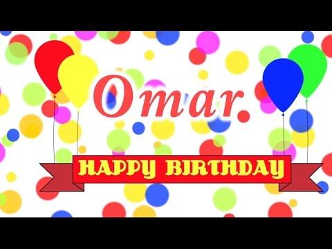 Happy Birthday Omar Song