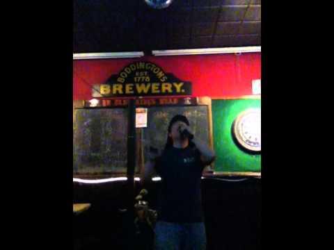 "Me singing Kings of Leon's ""Sex On Fire"" at Karaoke.  Enjoy"
