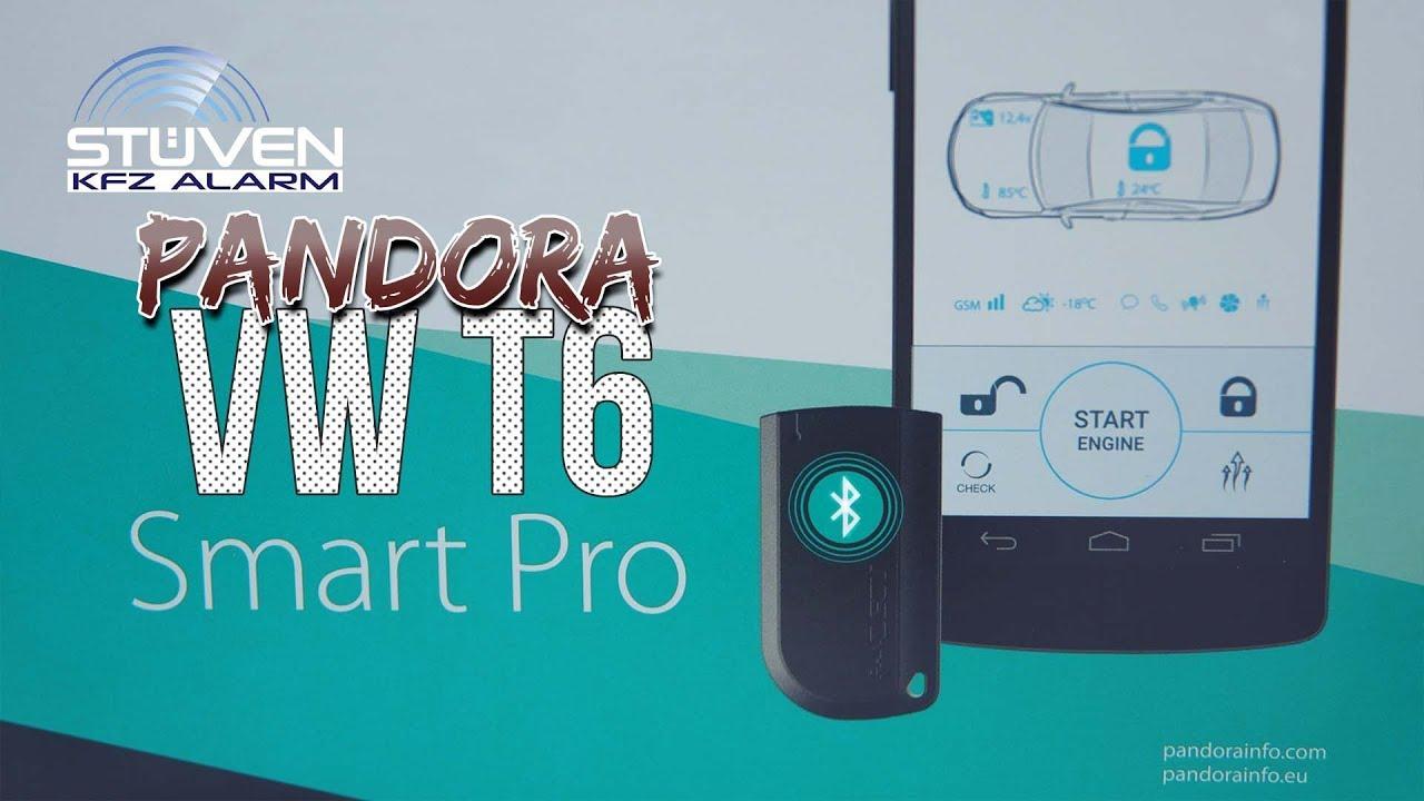 Pandora Smart Pro Vw T6 Highend Alarmanlage