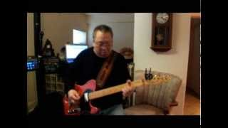 "Steve Lau the Hong Kong Cowboy plays ""I Fall To Pieces"" on his Telecaster"