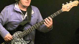 How To Play Bass Guitar To Let