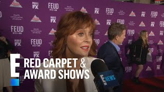 Why Susan Sarandon Was Scared to Play Bette Davis   E! Live from the Red Carpet