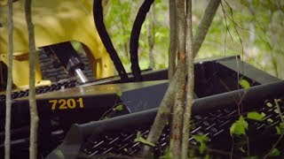 Video still for Brush Wolf 7201: Brush Cutter Attachment for Skid Steers