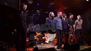 Live Happy music instrumental gypsy jazz - Canarro Transilvanian Concert tour 2017