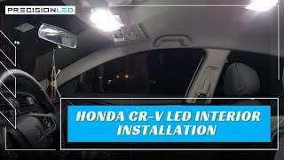 Honda CR-V LED Interior - How To Install -4th Gen | 2012-2016