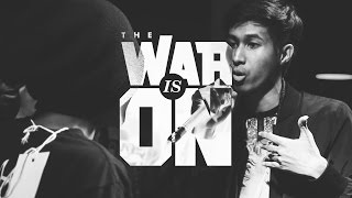 THE WAR IS ON EP.3 - UMA VS BENXBIZZY | RAP IS NOW