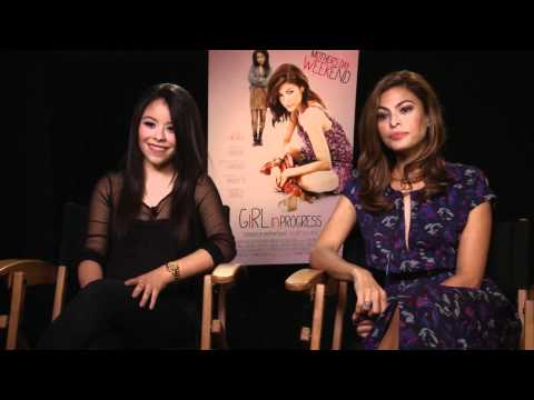 Eva Mendes and Cierra Ramirez Interview - Girl In Progress