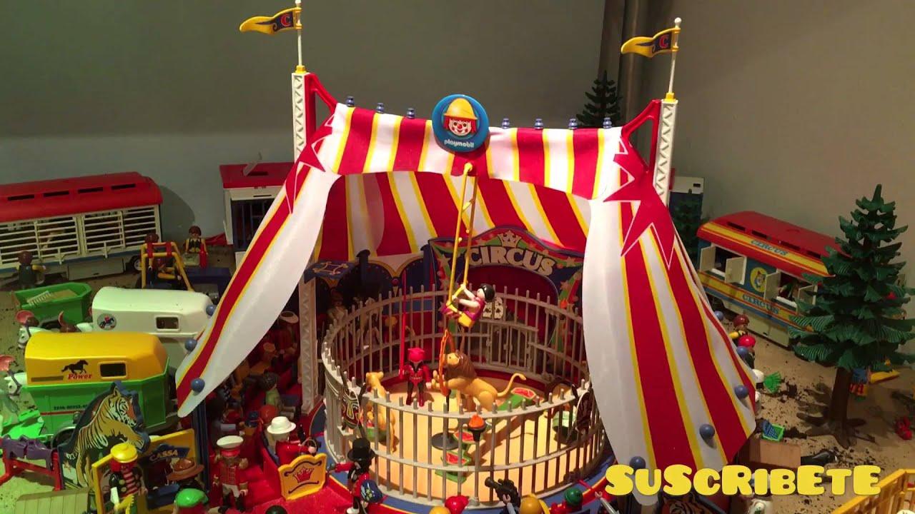 playmobil el circo de playmobil 2016 youtube