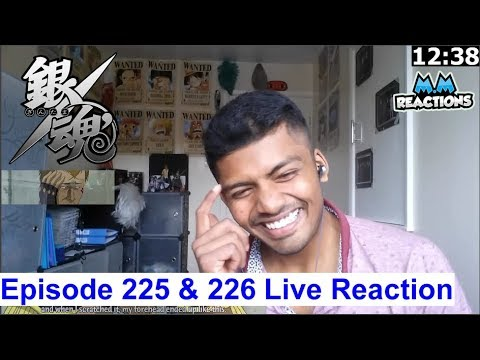 Father & Son!! (Jail Arc) - Gintama Anime Episode 225 & 226 Live Reaction