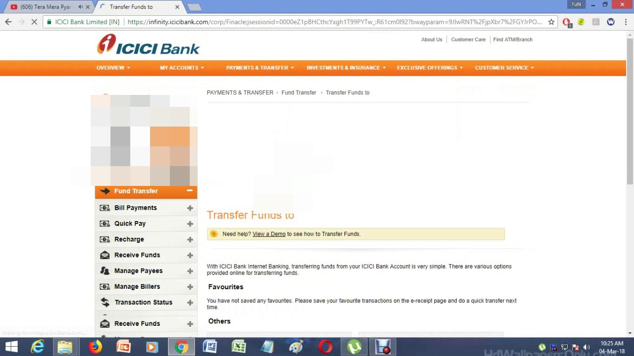 icici internet banking hours