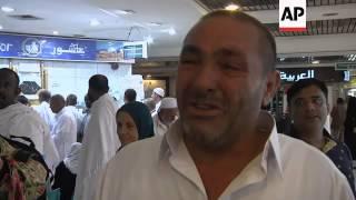 Muslims begin their annual Hajj pilgrimage to Mecca