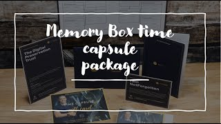 What's in the folder pack Memory Box NotForgotten Time Capsule