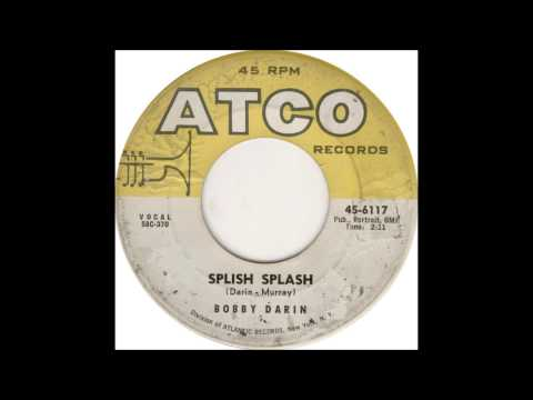 Splish Splash Bobby Darin 1st and 2nd take Ahmet Ertegun Producing + Directing April 10 1958