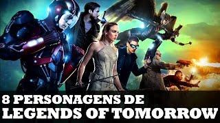 CONHEÇA OS 8 PERSONAGENS DE LEGENDS OF TOMORROW! | Nerd News #27