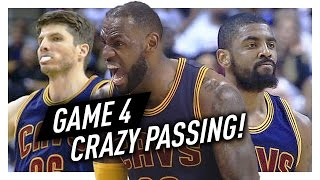 LeBron James, Kyrie Irving & Kyle Korver Game 4 Highlights vs Raptors 2017 Playoffs - CRAZY!