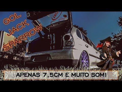 APENAS 7,5CM DO CHÃO - GOL JACK SPARROW