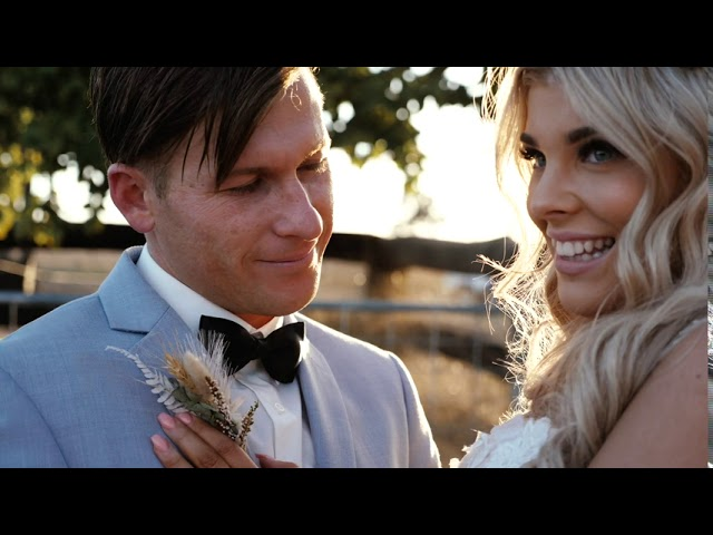 Jared & Chaquille • An Australian Country Wedding