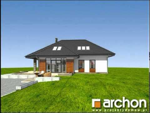 Dom W Pigwowcach 3 Projekty Domów Archon Wwwarchonpl Youtube