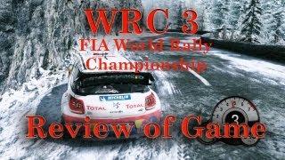 WRC3 FIA World Rally Championship 3 PC Review XBOX Playstation 3