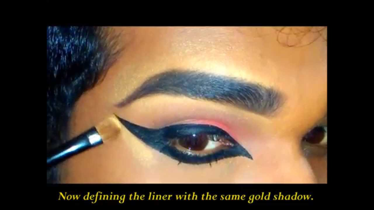 Indian Dance Makeup Eye Youtube