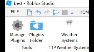 How To Add Plugins in Roblox Studio
