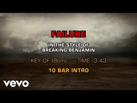 Breaking Benjamin - Failure (Karaoke Smash Hits Vol. 1)