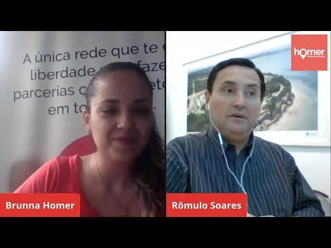 LIVE do Homer Parcerias Imobiliárias com o presidente do CRECIPB, Romulo Soares