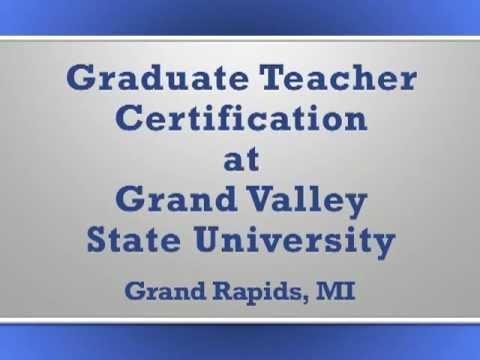 Graduate Teacher Certification At Gvsu