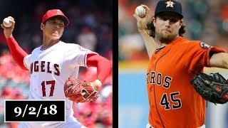 Los Angeles Angels vs Houston Astros Highlights    September 2, 2018