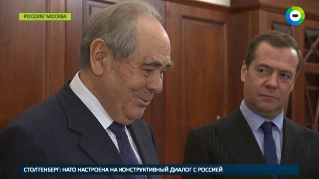 Шаймиев получил в подарок карту древней Тартарии - МИР24