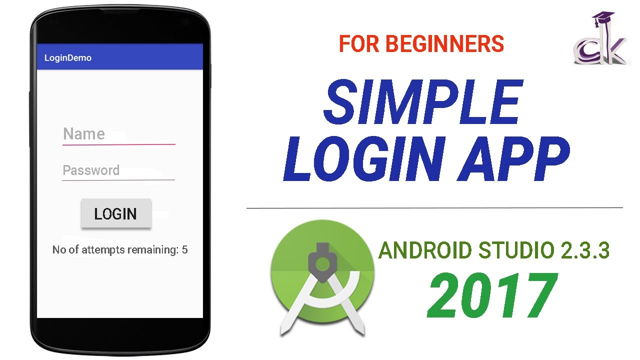 Simple Login App Tutorial Using Android Studio 2 3 3 (NEW)