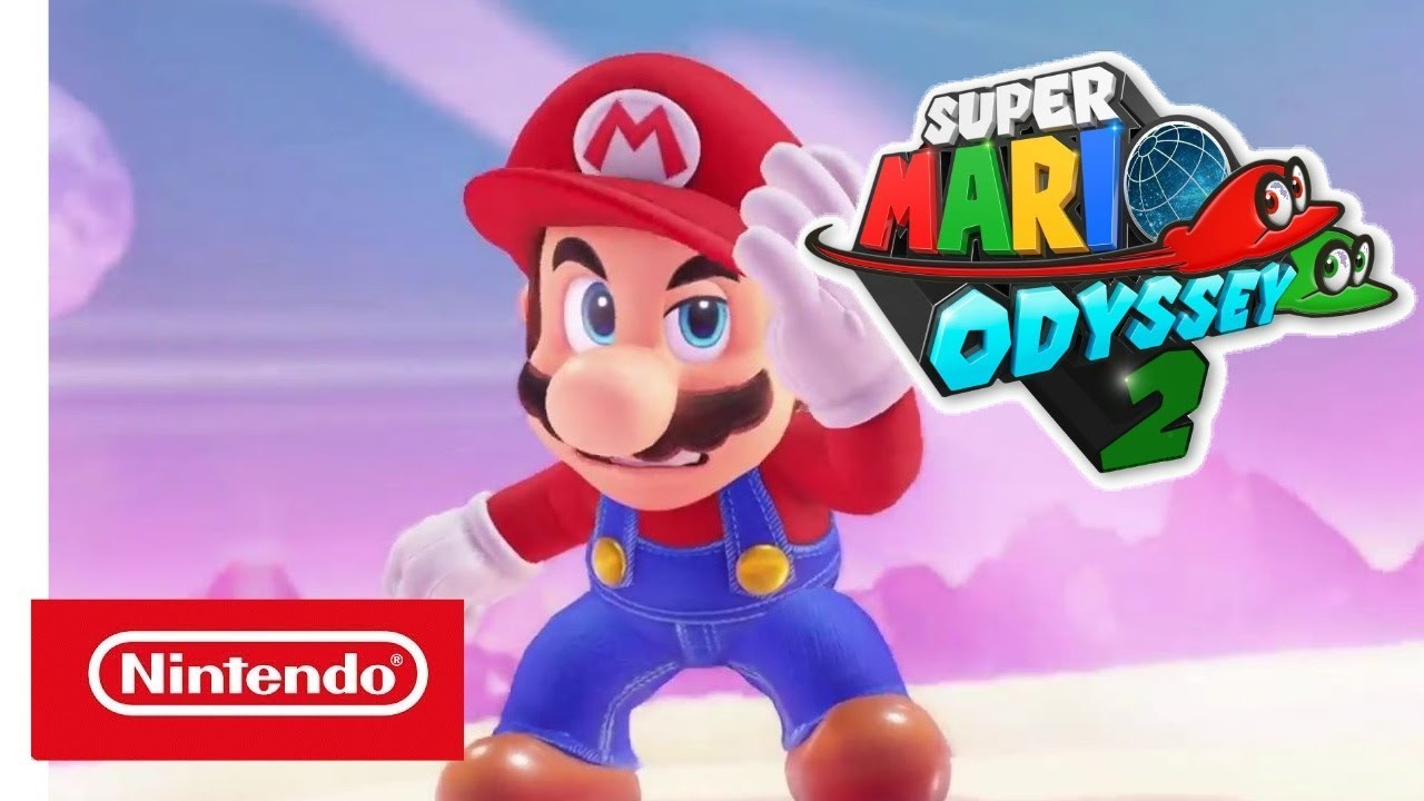 Official Super Mario Odyssey 2 Trailer Nintendo Switch 4k Youtube