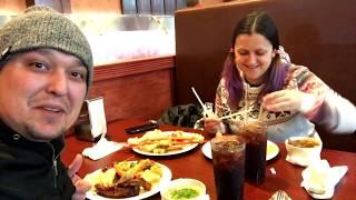 Безлимитная еда  в японском ресторане в Америке!