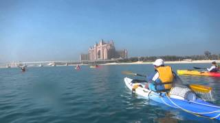 Kayak tour around Palm Jumeirah - DubaiBlog دبيّ