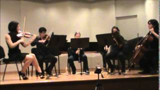 Clarinet Quintet f# minor I. Allegro energico - S. Coleridge Taylor