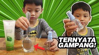 Cara membuat hand sanitizer sendiri paling mudah!