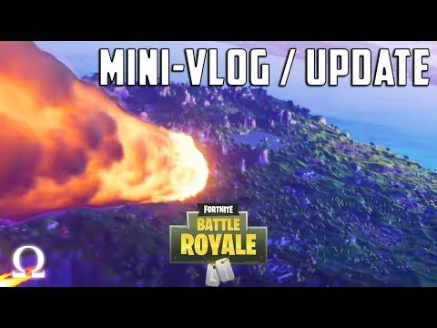 NEW FORTNITE SEASON 4 UPDATE / CRATER + MERCH + CHANNEL NEWS! | Fortnite Battle Royale / Mini-Vlog
