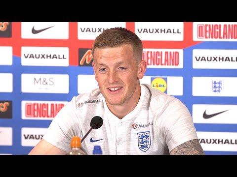 Jordan Pickford Full Pre-Match Press Conference - England v Belgium - Russia 2018 World Cup 🏆
