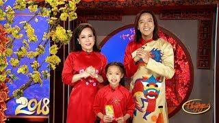 Gia Đình Việt Hương, Hoài Phương, Bé Phương Vy Chúc Tết Xuân Mậu Tuất 2018