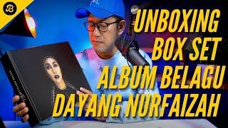 Download Unboxing Box Set Album Dayang Nurfaizah BELAGU, Sewa Studio Rakaman dalam Gudang