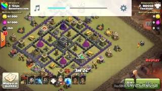 Clash of clans road to cristallo ep 2:50 coppe!!!