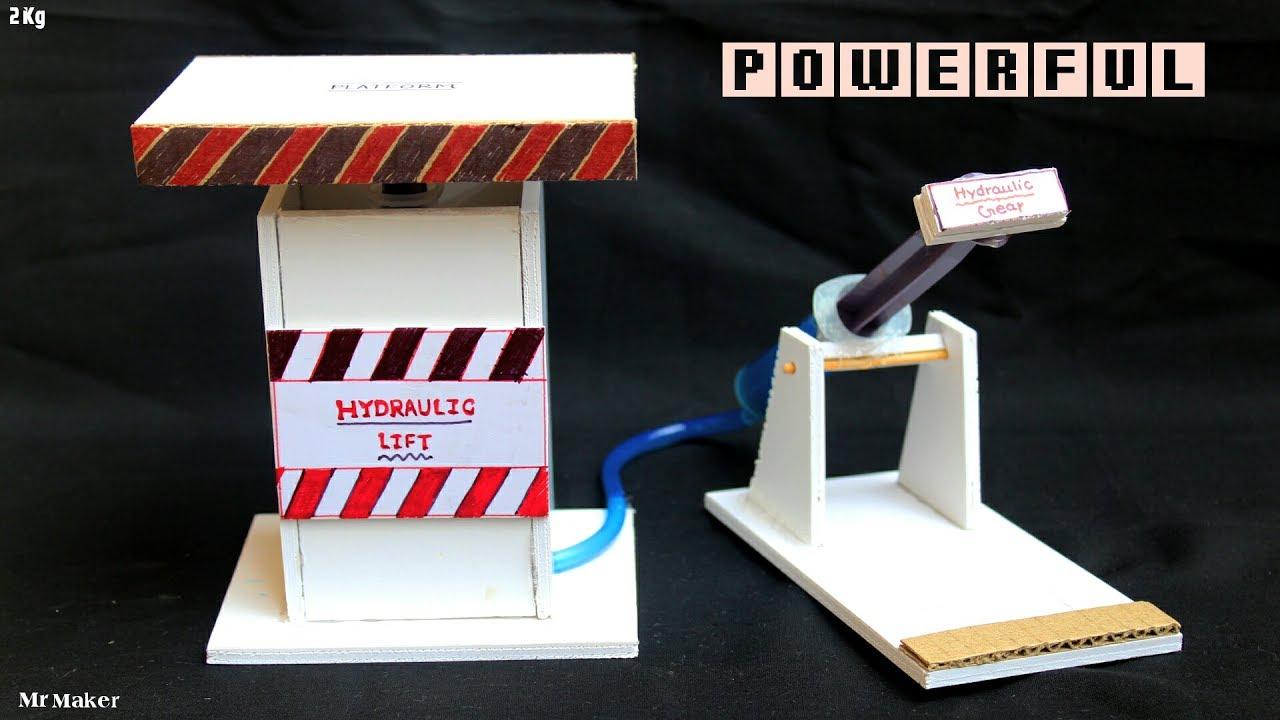Homemade POWERFUL hydraulic Jack - DIY
