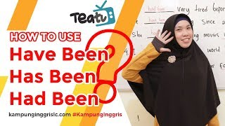 Download lagu Penggunaan Have Been, Has Been dan Had Been | TEATU with Miss Nocita - Kampung Inggris LC