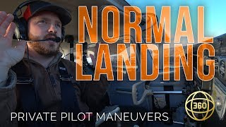 How to fly in 360 & VR: Normal Landing