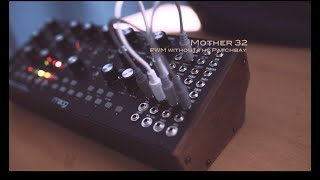 Sound Design:PWM on the Moog Mother 32 without the Patchbay