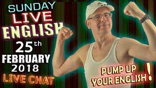 Mr Duncan's Live English - 25th Feb 2018 - Dog Idioms - Winter Olympics - Grammar