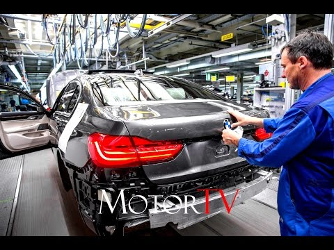 CAR FACTORY :  NEW 2017 BMW 7 SERIES PRODUCTION l Plant Ding